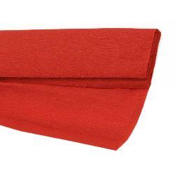 Crepe paper fine 50x200 cm red