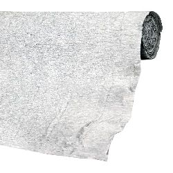 Crepe paper 50x250 cm color silver metallic