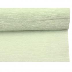 Crepe Paper for Decoration 50x230 cm green pale