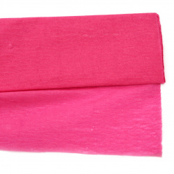 Креп хартия фина 50x200 см розова тъмно