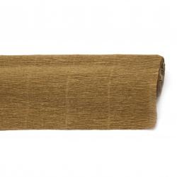 Crepe paper 50x230 cm brown