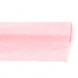crepe paper  50x230 cm cyclamen