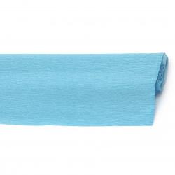 Crepe paper 50x230 cm blue