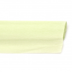 Креп хартия 50x230 см зелена бледо