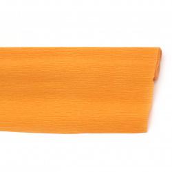 Crepe paper 50x230 cm orange light