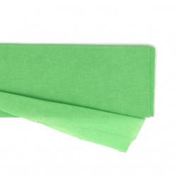 Crepe paper fine 50x100 cm green