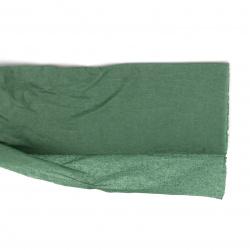fine Crepe paper 50x100 cm green dark