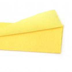 Креп хартия фина 50x100 см жълта