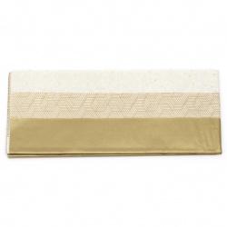 FOLIA тишу хартия 17 гр/м2 50x75 см Mix GOLD 3 дизайна -6 листа