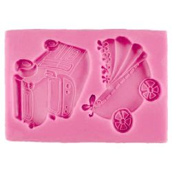 Silicone mold - 93 x 63 x 9 mm
