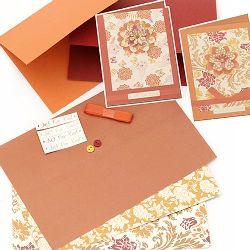 Set pentru confecționarea și decorarea a 4 cărți postale 12x17,2 cm