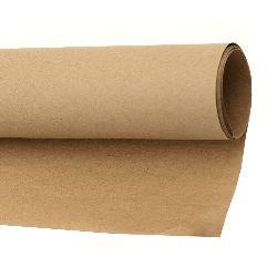 Крафт хартия 120 гр/м2 78x108 см цвят натурален