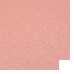 Cardboard pearl double sided 250 gr / m2 A4 (297x210 mm) pink -1 pc