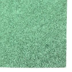 Glitter Cardboard for Decoration 30x30 color green