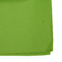 Tissue Paper for Decoration Grass Green Color 50x65cm 10 sheets