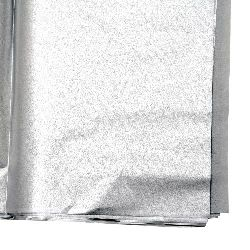 Tissue Paper for Decoration Silver Color 50x65cm 10 sheets