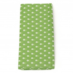 Tissue Paper Green Points Decoration 50x65cm 10 sheets