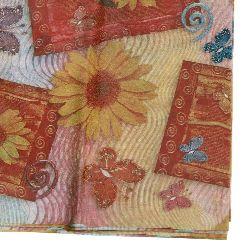 Tissue Paper Sunflowers Decoration 50x65cm - 10 sheets