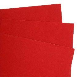Хартия велурена А4 130 гр/м2 червена -1 брой