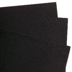 Хартия велурена А4 130 гр/м2 черна -1 брой