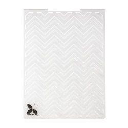 Μήτρα embossing folder 12,5x17,8 cm - ζιγκ-ζαγκ