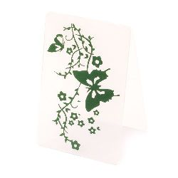 Embossing Folder Decoration  10x15 cm - butterfly branch