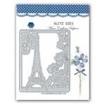 Decoration Cutting Dies Set 9.7x11.9 cm frame Paris