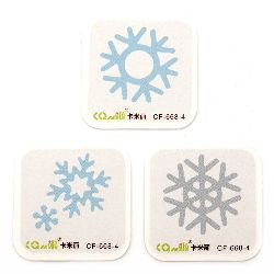Decoration Cutting Dies Mixed Snowflakes from 11 mm to 34 mm