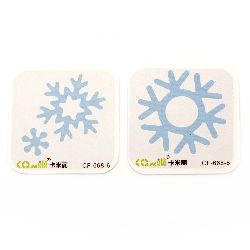 Decoration Cutting Dies Mixed Snowflakes from 19mm to 54mm