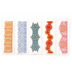 Cutting Dies 125x27 ± 34 mm Mixed Flowers