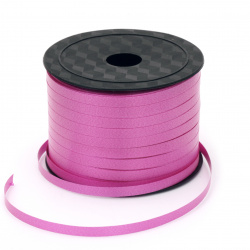 Ribbon Roll, DIY Decoration, Craft, Wedding, 5 mm cyclamen -91 meters