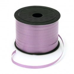 Ribbon Roll, DIY Decoration, Craft, Wedding, 5 mm purple -91 meters