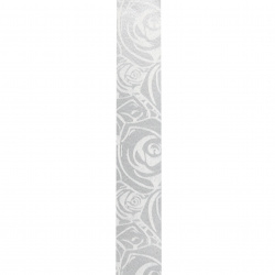 Ribbon Roll, DIY Decoration, Craft, Weddin 17 mm roses white -10 meters