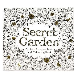 Anti-stress coloring book 24x24.5 cm 24 pages - Secret Garten