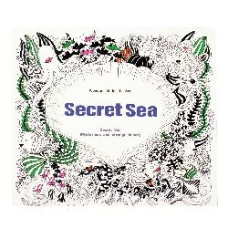 Anti-stress coloring book 24x24.5 cm 24 pages - Secret Sea