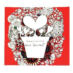 Книжка за оцветяване антистрес 24x24.5 см 24 страници - Love Secret
