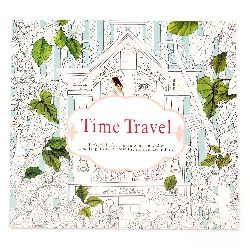 Anti-stress coloring book 24x24.5 cm 24 pages - Time Travel