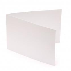DIY Card base10x15 cm horizontal 250 g color white - 10 pieces