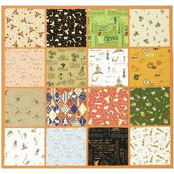 Hârtie de design pentru cartea de scrapbooking (22,5x30,4 cm) 8 modele x 2 coli (30,5x45 cm) Le Petit Prince