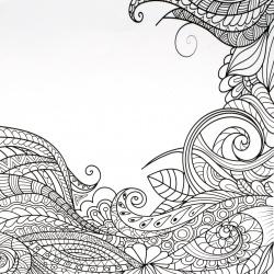 Xартия за скрапбукинг 12 inch(30.5 x 30.5 см) едностранна 160 гр/м2 -1 лист