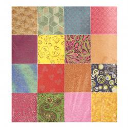 Scrapbooking Ινδικό χαρτί 120 g 21x29,7 cm, SPRING and SUMMER- 40 σχέδια