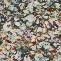 Handmade Nepal Pape 60g 50x73 cm Marble Pulp Dye - multicolor