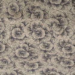 Hârtie nepaleză 60 gr mână 51x69 cm Floare de linie imprimată