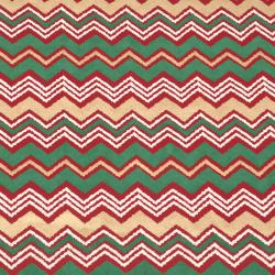 Дизайнерска индийска хартия 120 гр за скрапбукинг, арт и крафт 56x76 см Green, Red and Gold HP01