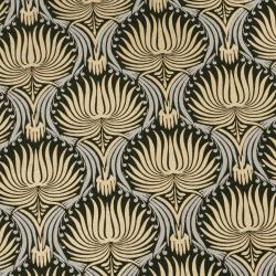 Hârtie indiană de designer 120 g pentru scrapbooking, artă și ambarcațiuni 56x76 cm Gold Silver on Black HP11