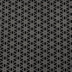 Scrapbooking Ινδικό χαρτί 120 g 56x76 cm foil EMBOS Silver Flowers on Black HP42