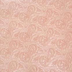 Hârtie indiană de designer 120 g pentru scrapbooking, artă și kraft  56x76 cm EMBOS Rose Pink Roses HP54