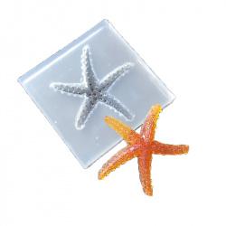 Силиконов молд /форма/ 51x51x10 мм морска звезда