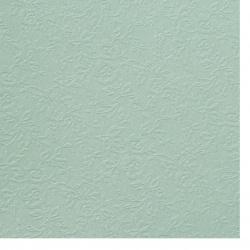 Carton perlete unilateral în relief cu flori 210 g / m2 A4 (21x 29,7 cm) culoare turcoaz -1 buc