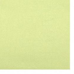 Хартия перлена 120 гр едностранна А4 (21/ 29.7 см) зелено светло -1 брой
